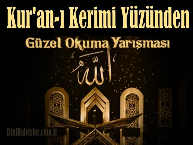 2021 Yılı Kur'an-ı Kerimi Yüzünden Güzel Okuma Yarışması