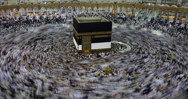 90 bin hacı adayı bugün Mekke'de…