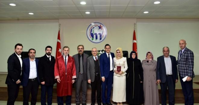 Bursa'da İlk resmi dini nikah kıyıldı!