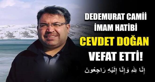 Cevdet Doğan Hoca Rahmana Kavuştu