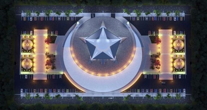 Türkiye'nin ilk Ayyıldızlı Camisi yapılıyor