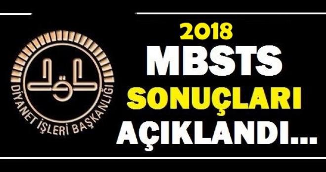 2018 MBSTS Sonuçları Açıklandı