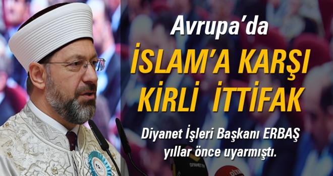 Diyanet İşleri Başkanı Prof. Dr. Ali ERBAŞ yıllar önce uyarmıştı