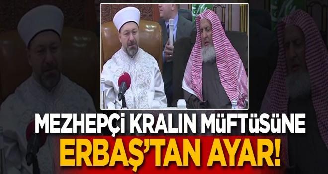 Diyanet İşleri Başkanı Erbaş, Riyad'da konferans verdi