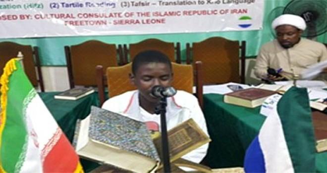 Sierra Leone Kur'an Yarışması'nda dereceye girenler ödüllendirildi