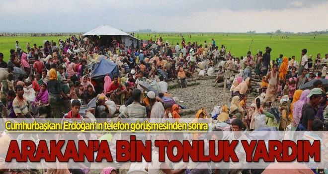 Arakan'a bin tonluk yardım için izin çıktı