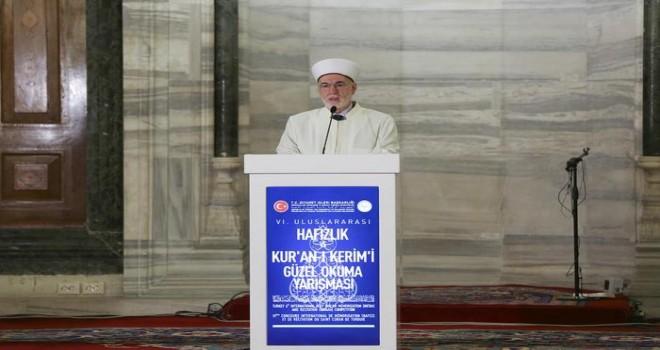Türkiye 6. Uluslararası Hafızlık ve Kur'an-ı Kerim'i Güzel Okuma Yarışmas