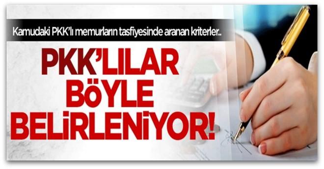 15 kriterle PKK\'lı öğretmen temizliği