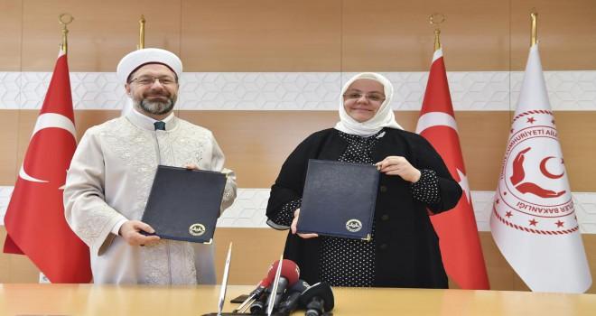 Ailenin güçlendirilmesi için işbirliği protokolü imzalandı