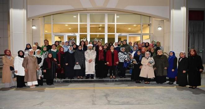 Erbaş, Kadın STK temsilcileriyle iftar sofrasında bir araya geldi
