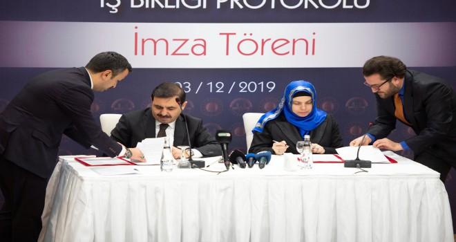 Diyanet ile Adalet Bakanlığı arasında iş birliği protokolü