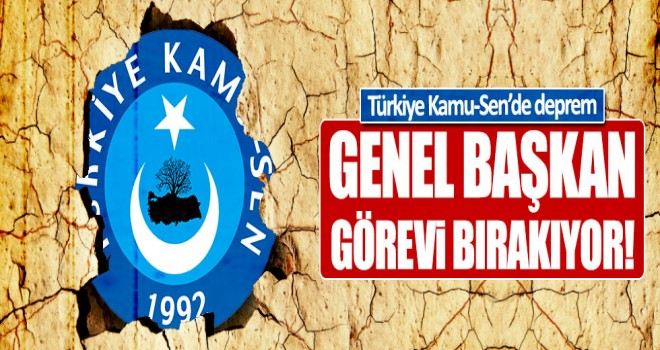 İsmail Koncuk genel başkanlığı bırakıyor