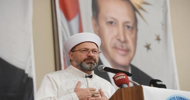 Diyanet İşleri Başkanı Erbaş, Mersin'de