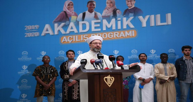 Türkiye Diyanet Vakfı 111 ülkeden öğrenci misafir ediyor