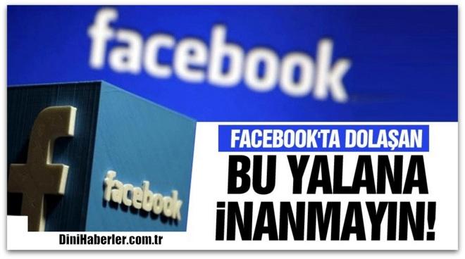 Facebook'ta dolaşan \'yarın teslim tarihi\' yalanına inanmayın