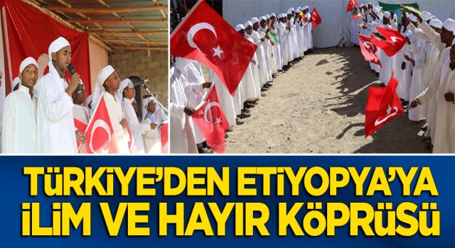 İDDEF, Türkiye'den Etiyopya'ya ilim köprüleri kuruyor