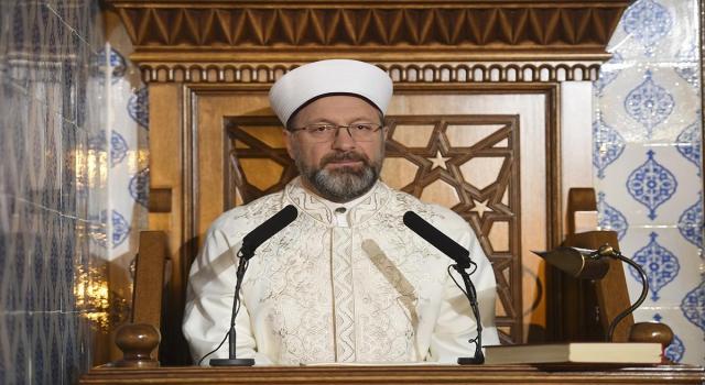 Diyanet İşleri Başkanı Prof. Dr. Ali Erbaş ve Camide Hayat