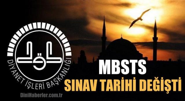 MBSTS SINAV TARİHİ DEĞİŞTİ
