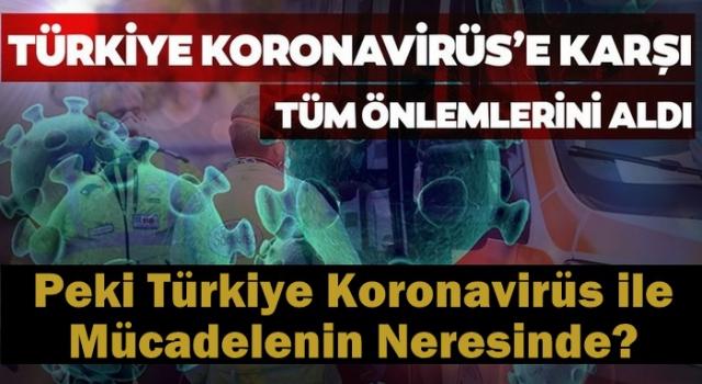 Türkiye Koronavirüs ile Mücadelenin Neresinde?
