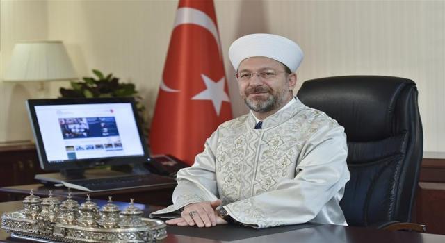 Diyanet İşleri Başkanı Erbaş'tan 7 Nisan Dünya Sağlık Günü Mesajı