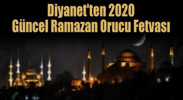 Diyanet'ten Kovid-19'lu 2020 Ramazan Orucu Fetvası