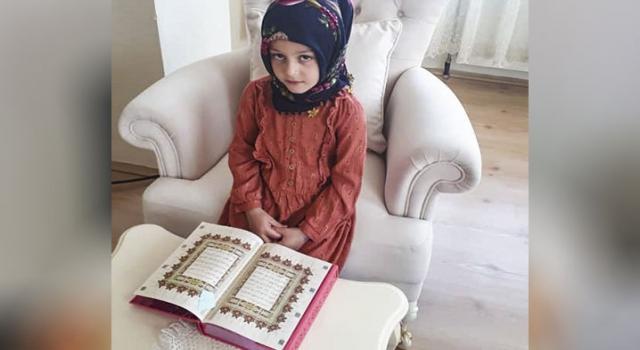 4-6 yaş grubu öğrenciler uzaktan eğitimle Kur'an öğrendi