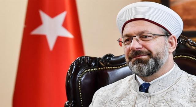 Başkan Erbaş'tan şehitler ve Döngeloğlu için taziye mesajı