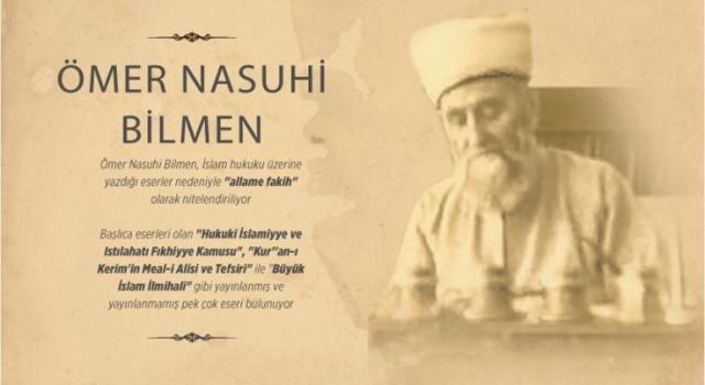 Ömer Nasuhi Bilmen, hakk'a irtihalinin 49. yılı