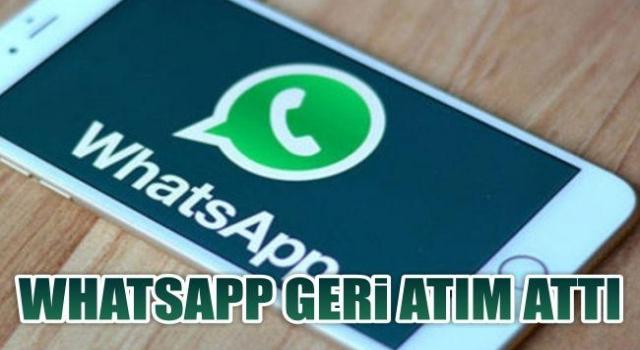 Ve whatsapp geri adım attı