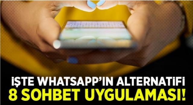 WhatsApp yerine kullanılabilecek en iyi 8 sohbet uygulaması...