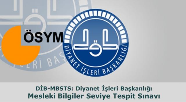 MBSTS sınav giriş belgeleri erişime açıldı