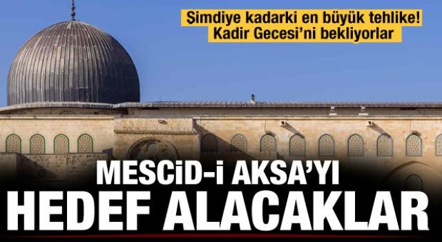 30 bin Yahudi Kadir Gecesi'nde Mescid-i Aksa'ya baskın düzenleyecek
