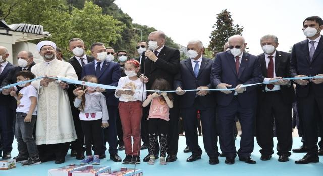 Zonguldak Uzun Mehmet Camii dualarla açıldı