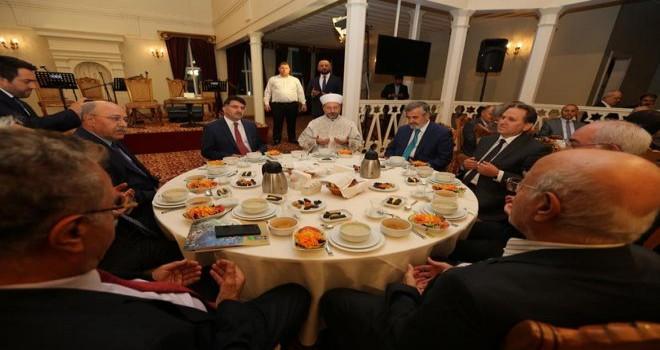 Başkan Erbaş, 'Muharrem İftarı ve Kerbela Şehitlerini Anma' programına katıldı…