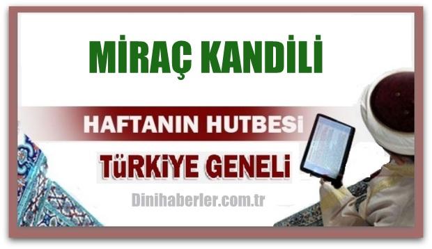 29.04.2016 Tarihli okunacak hutbe.. Turkiye Genel