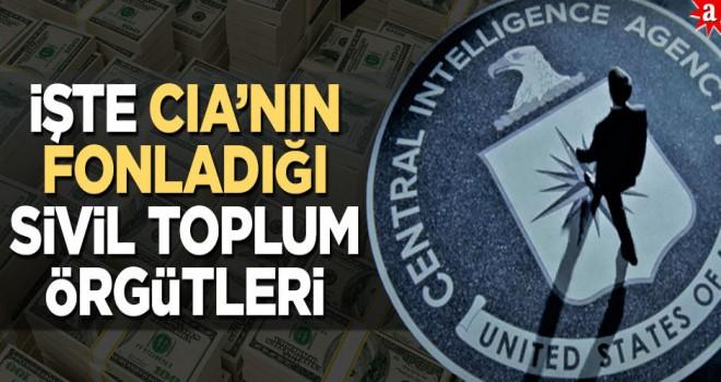 İşte CIA'nın fonladığı sivil toplum örgütleri