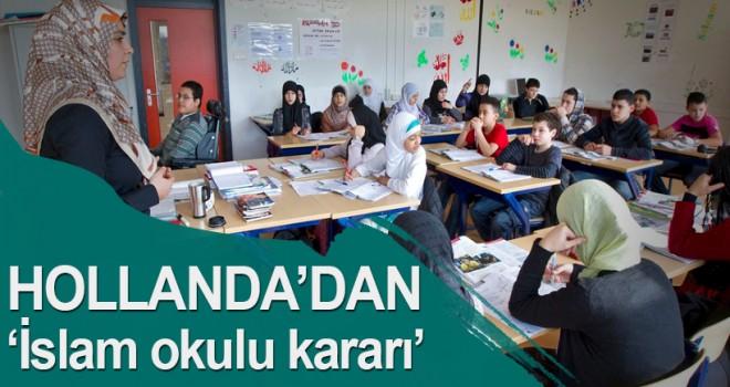 Hollanda'dan İslam okulu kararı