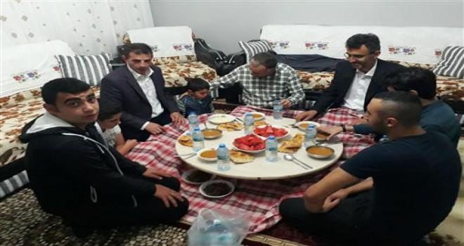 Yozgat İl Müftüsü Salih SEZİK Yetim Ailesinde İftar'a Katıldı