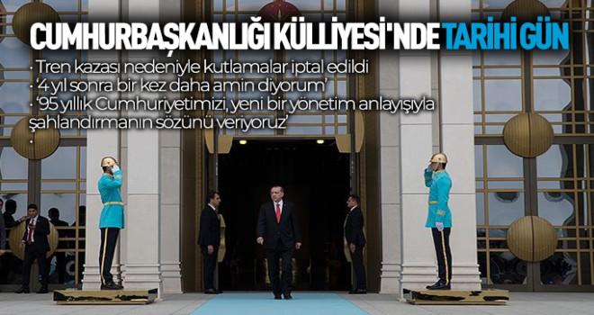 Külliye'de tarihi tören! Erdoğan'dan önemli mesajlar