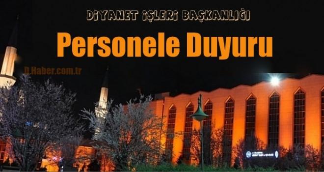 Diytanet'ten Personele Duyuru