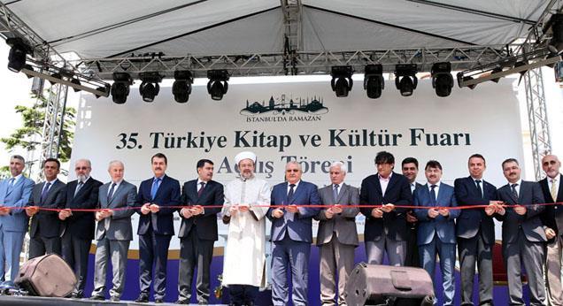 35. Türkiye Kitap ve Kültür Fuarı açıldı…