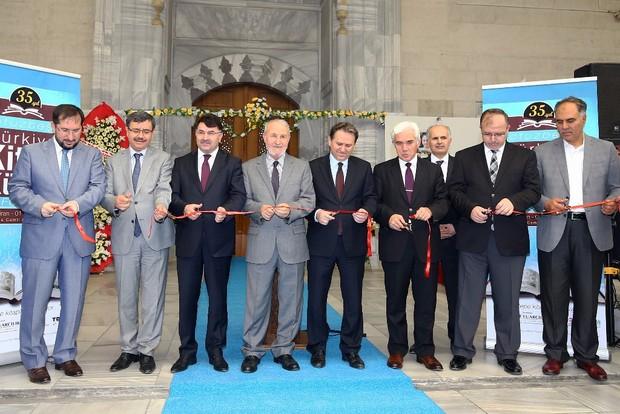35. Türkiye Kitap ve Kültür Fuarı açıldı