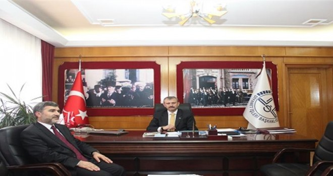 İzmir İl  Müftüsü Recep Şükrü Balkan Göreve Başladı