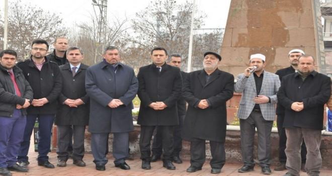 Iğdır'da Şehitlerin Manevi Huzurunda Afrin Zaferi İçin Dua
