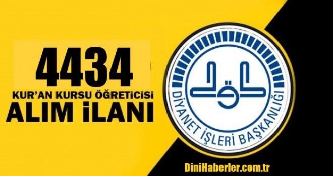 İstanbul Müftülüğü 4434 Fahri Öğretici Alımı Yapacak