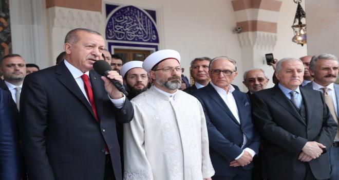 Hacı Osman Torun Camii dualarla açıldı