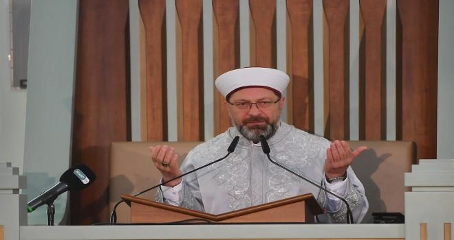 Beştepe Millet Camii'nde '15 Temmuz Şehitleri Anma ve Mevlid Programı' yapıldı