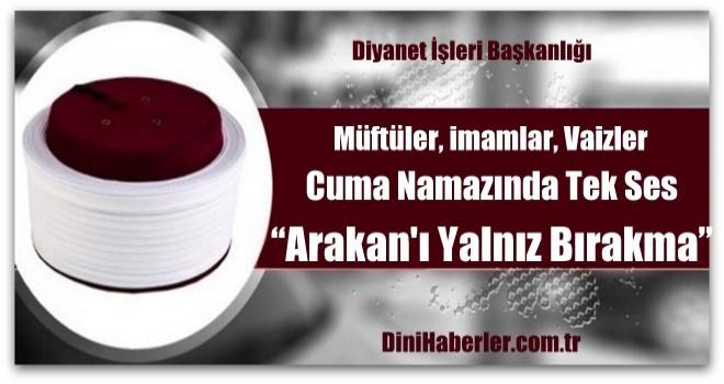 Yarın Türkiye genelindeki tüm camilerde...
