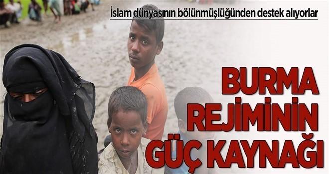 İslam dünyasının bölünmüşlüğünden destek alıyorlar