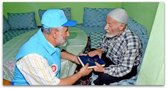 40 ülkeye 10 dilde 108 bin Kur\'an-ı Kerim